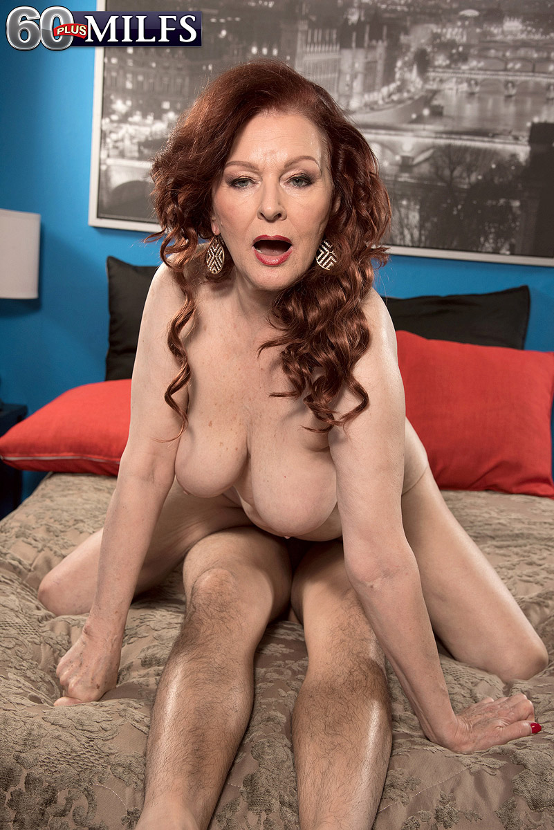 Getting fucked mature redhead mom