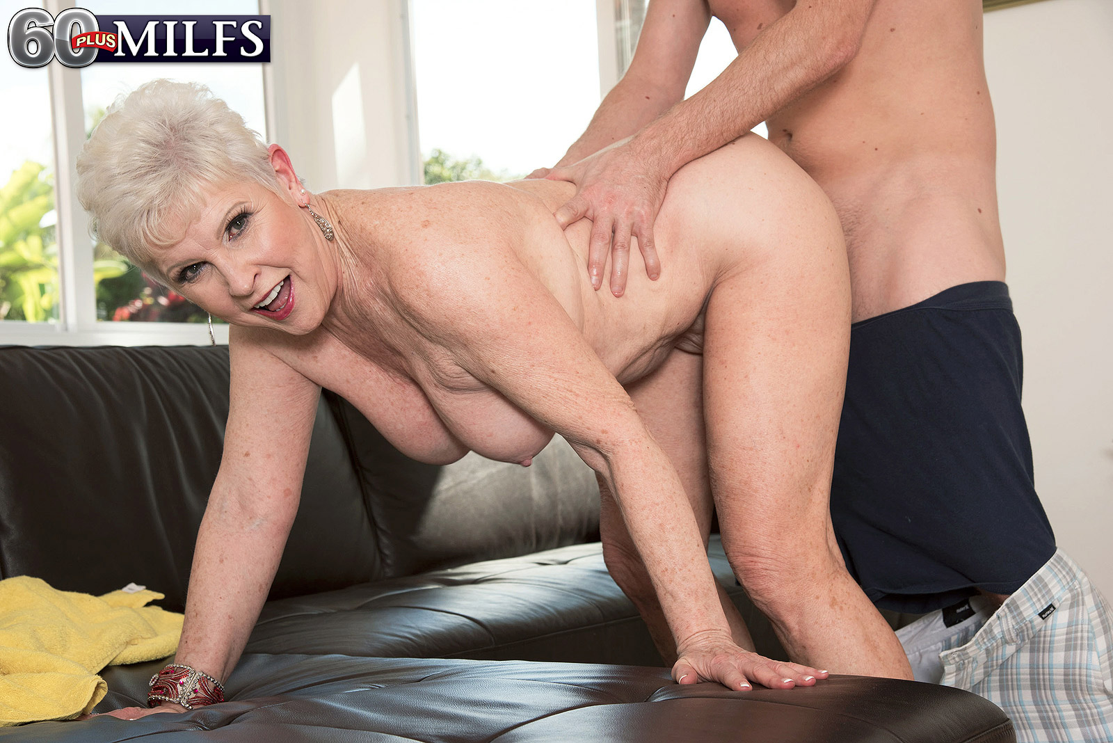 66 year old gilf takes a bbc 4