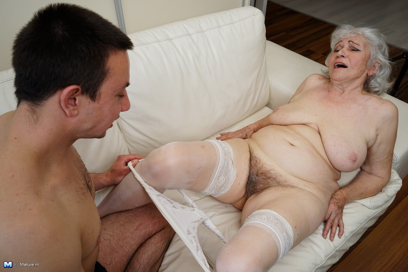Granny and boy porn