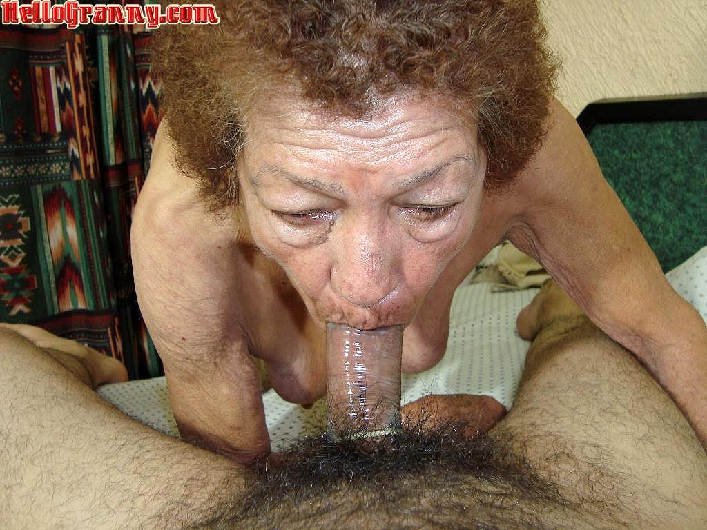 Old lady cock