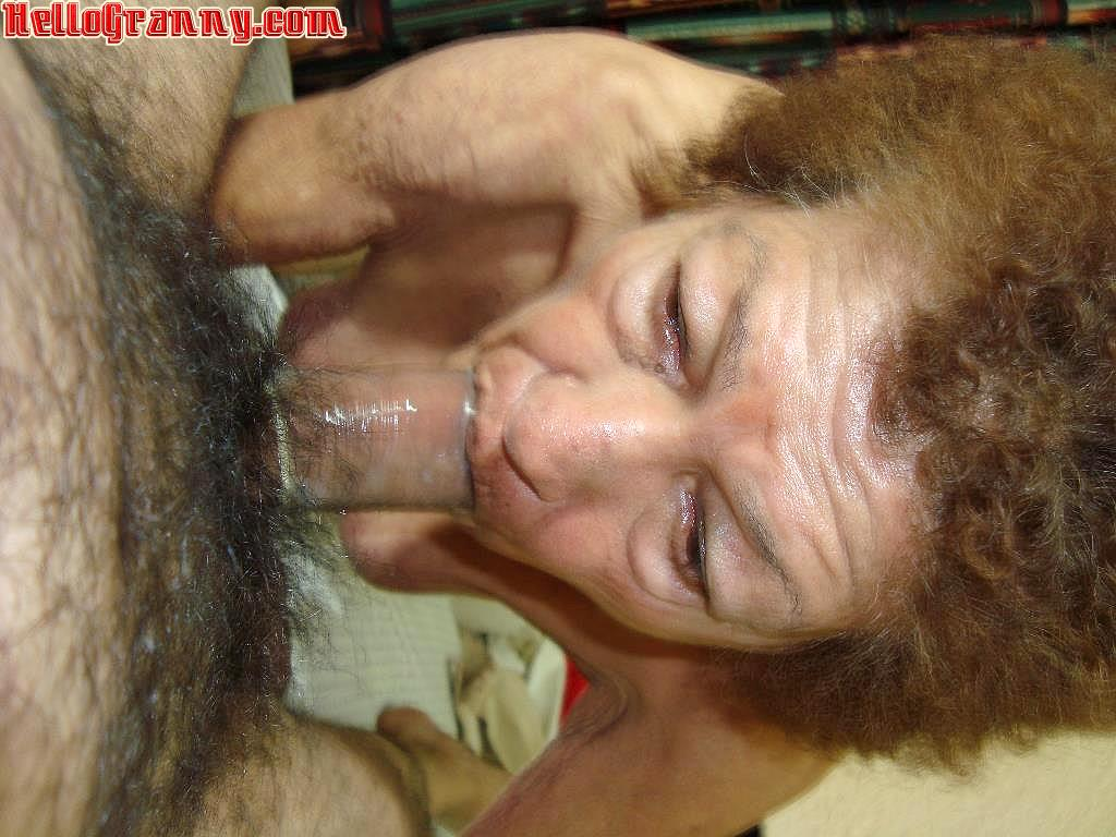 Granny Blowjob Old Very