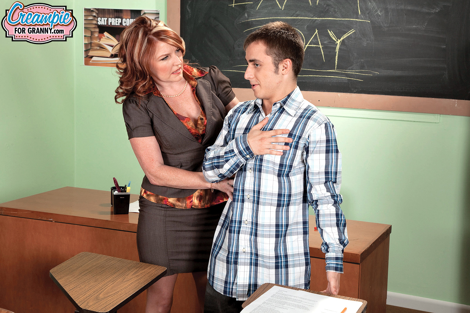 Mature teacher cougar king stacie