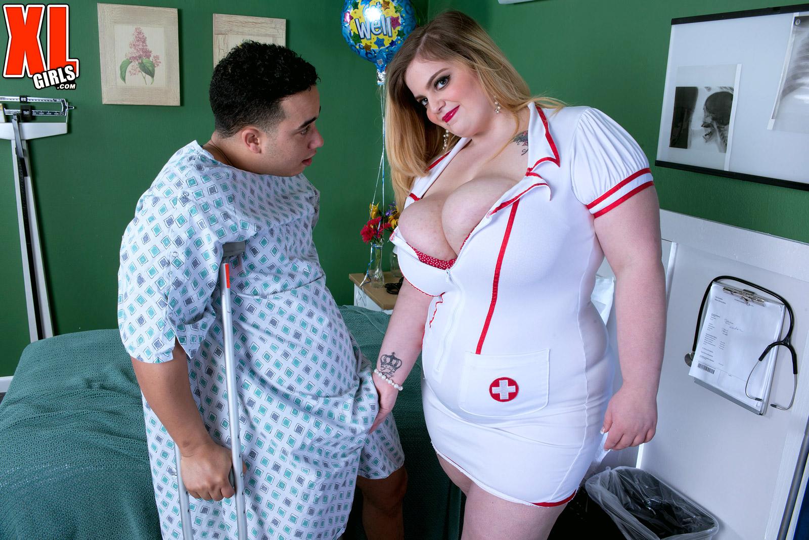 BBW Nurse Sashaa Juggs