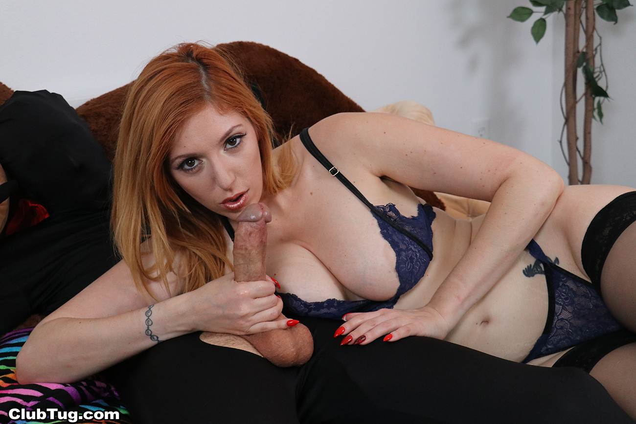 Huge Cumshot On Redhead