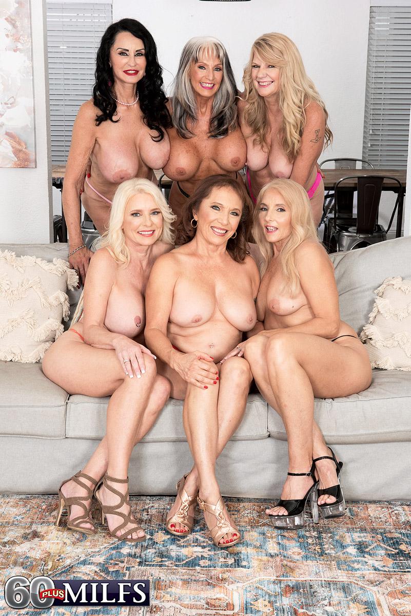 Big Granny Orgy