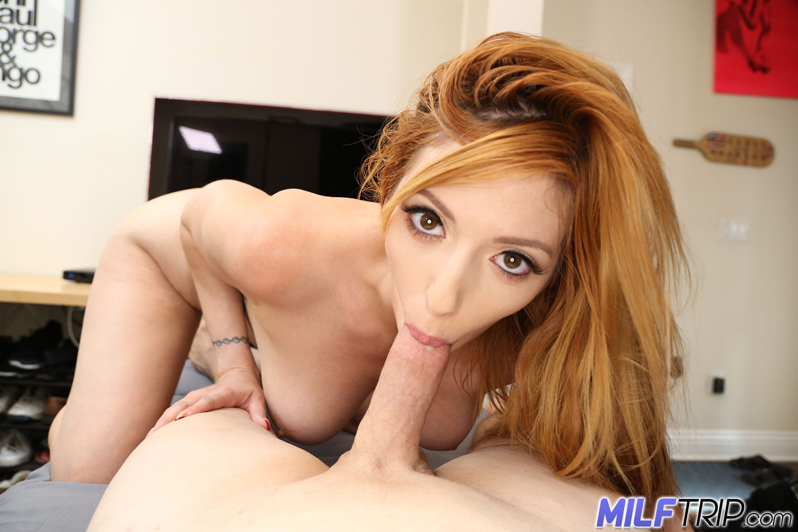 Redheaded MILF's Dirty Plan