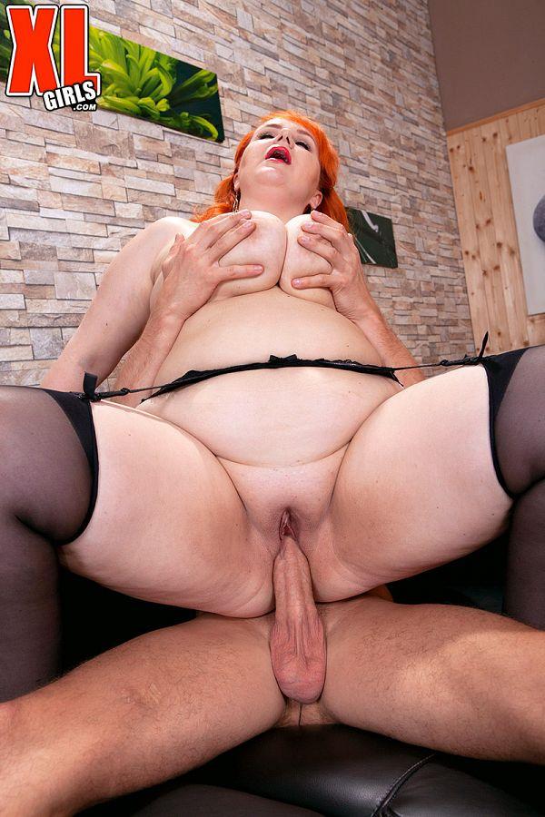 Redhead BBW Katrin Porto