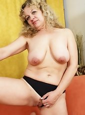 plump and horney mature